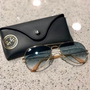 Ray Ban Aviators Gradient